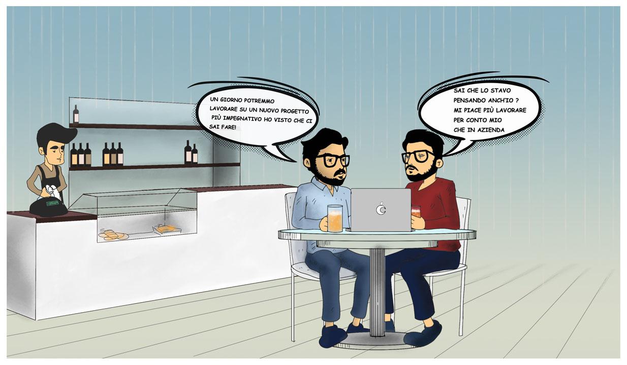 Angelo e Ignazio - Storia di Rocket Marketing